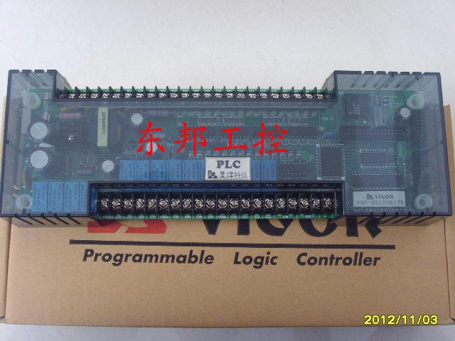 24点继电器输出,提供外界dc24v 200ma, 输出入连接采用端子台方式
